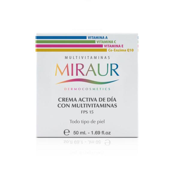 Crema de Día con Multivitaminas
