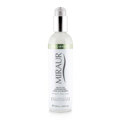 Agua gel limpiadora con aclarado para piel joven mixta - grasa de Miraur Dermocosmetics
