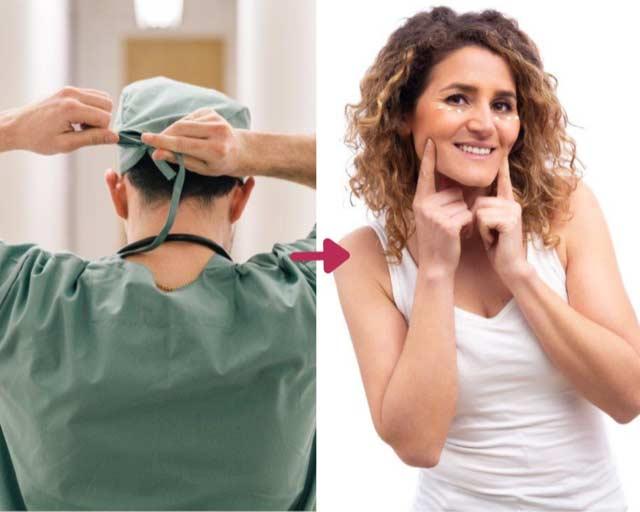 Alternativa a la cirugía estética: Línea revelación 4en1
